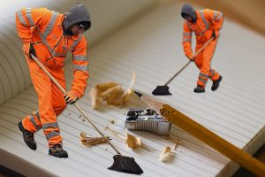 cleaning, pencil, sweep